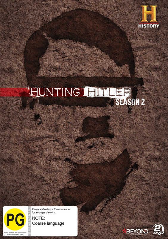 Hunting Hitler - Season 2 on DVD
