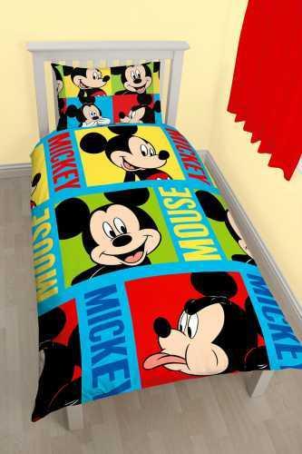 Mickey Mouse Duvet Set - Single image