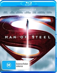 Man of Steel on Blu-ray