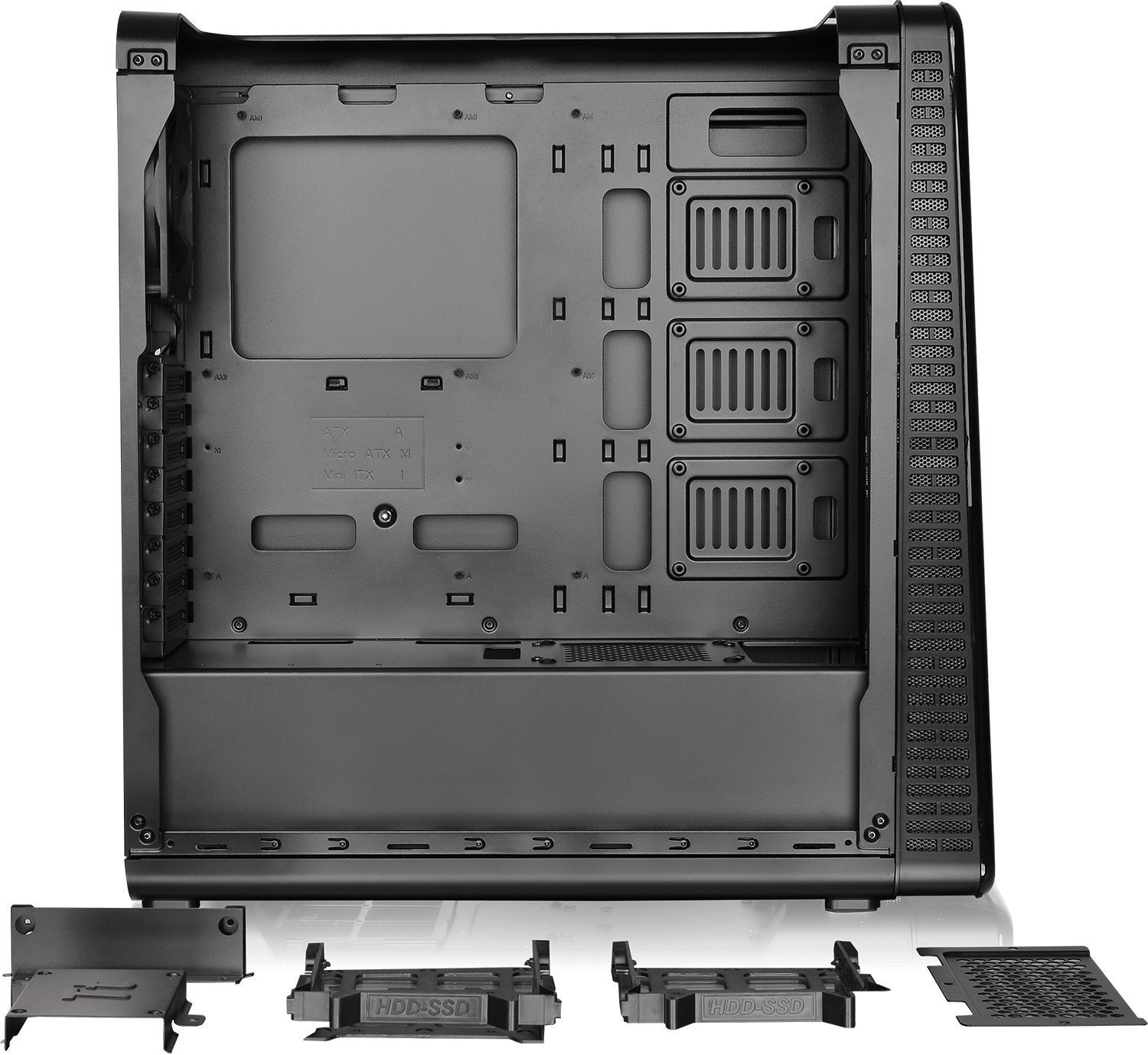 Thermaltake: View 28 RGB Gull-Wing Window ATX Mid-Tower Chassis image