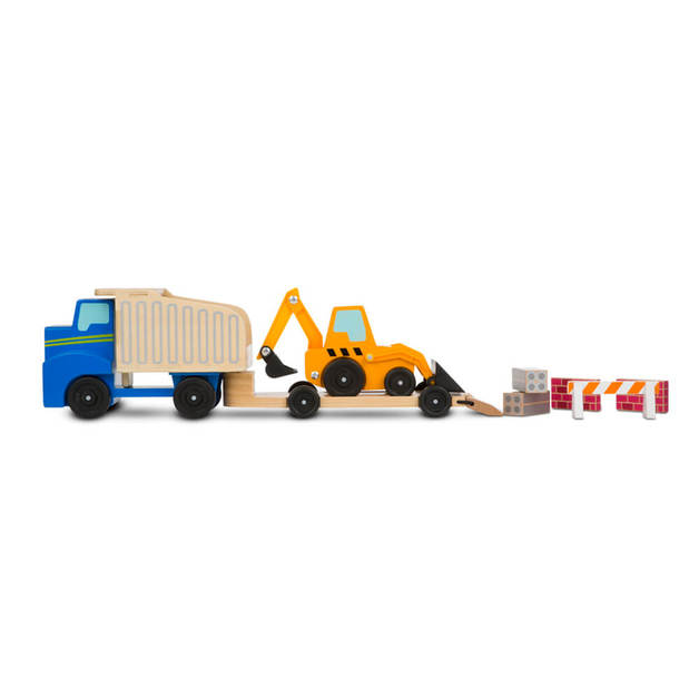 Melissa & Doug - Dump Truck and Loader