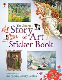 Story of Art Sticker Book by Sarah Courtauld image