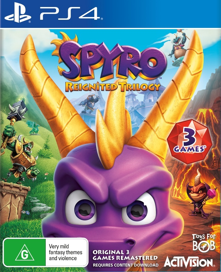 Spyro Reignited Trilogy for PS4 image