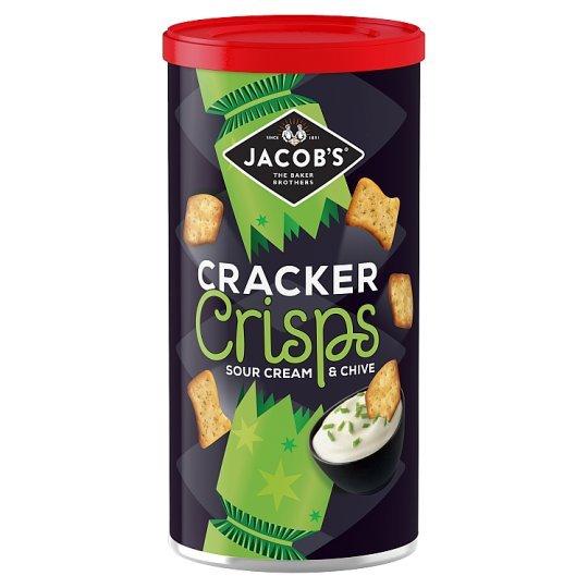 Jacobs Cracker Crisps Caddy Sour Cream & Chives 260g