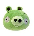 "Angry Birds: 5"" Plush Toy with Sound - green"