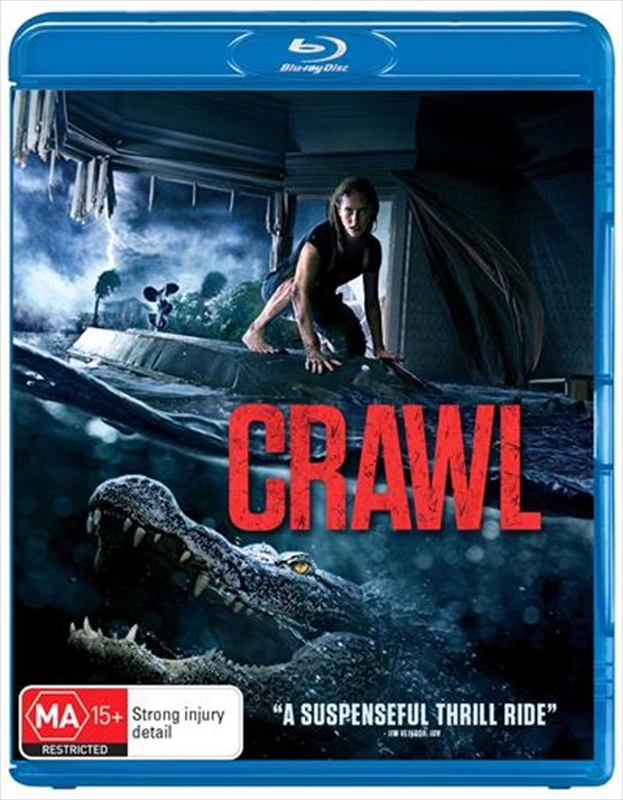 Crawl on Blu-ray