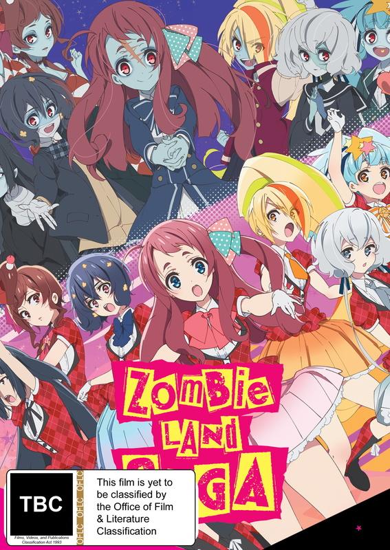 Zombie Land Saga - Season 1 DVD/Blu-ray Combo (Limited Edition) on Blu-ray