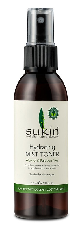 Sukin - Hydrating Mist Toner (125ml)
