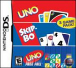 Uno Skip-Bo, Uno & Uno Freefall for Nintendo DS