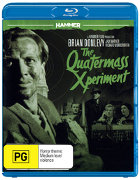 Hammer Horror: The Quatermass Xperiment on DVD, Blu-ray