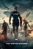 Marvel Captain America Winter Soldier Maxi Poster (192)