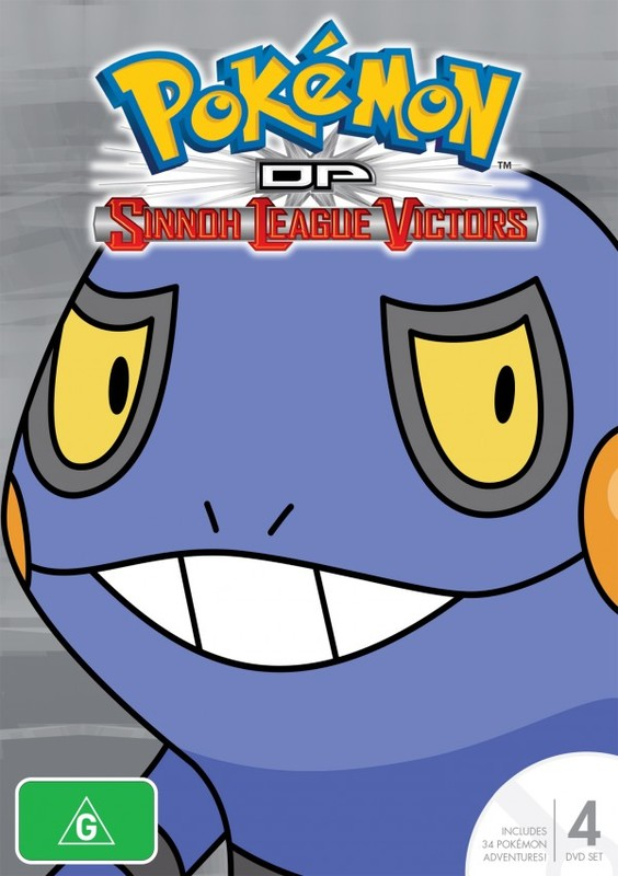 Pokemon - Season 13: Diamond & Pearl - Sinnoh League Victors