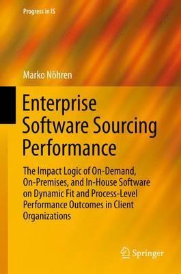 Enterprise Software Sourcing Performance by Marko Noehren