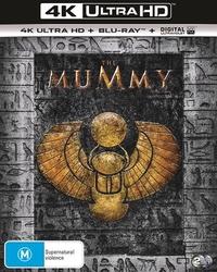 The Mummy on Blu-ray, UHD Blu-ray, UV