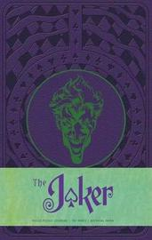 The Joker Hardcover Ruled Notebook by Matthew K Manning