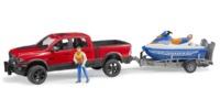 Bruder: RAM Power Wagon - with Jet Ski