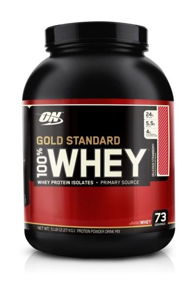 Optimum Nutrition Gold Standard 100% Whey - Strawberry (2.27kg) image