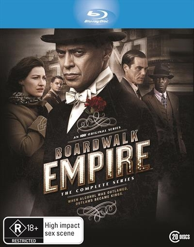 Boardwalk Empire - The Complete Seasons 1 - 5 on Blu-ray image