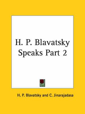 H.P.B. Speaks: v. II by H.P. Blavatsky image