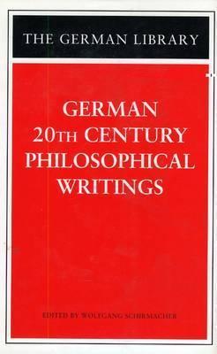 German Essays on Philosophy