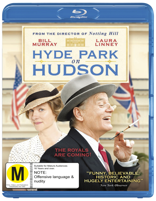 Hyde Park on Hudson on Blu-ray