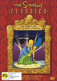 The Simpsons Classics - The Simpsons Go To Hollywood on DVD image