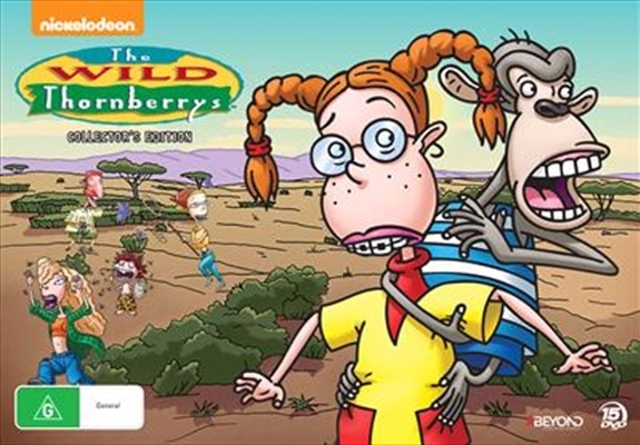 The Wild Thornberry's Collector's Edition (15 Disc Set) on DVD image
