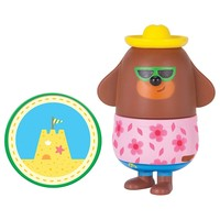 Hey Duggee: Collectible Figurine Duo Pack - Duggee & Castle Badge