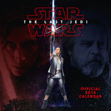 Star Wars The Last Jedi 2018 Square Wall Calendar