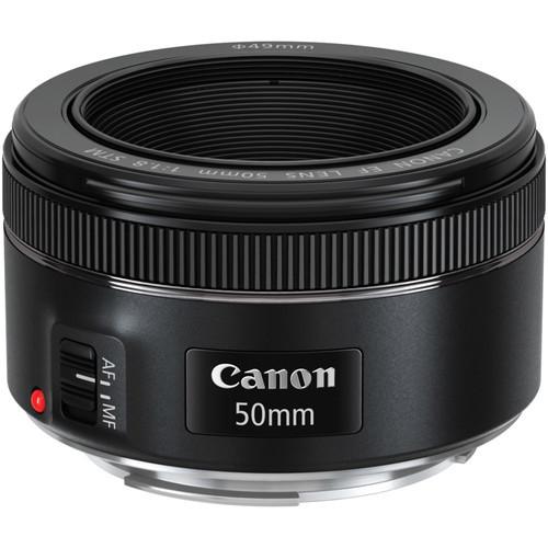 Canon EF 50mm F/1.8 STM Camera Lens image