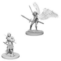 D&D Nolzur's Marvelous: Unpainted Miniatures - Aasimar Female Paladin