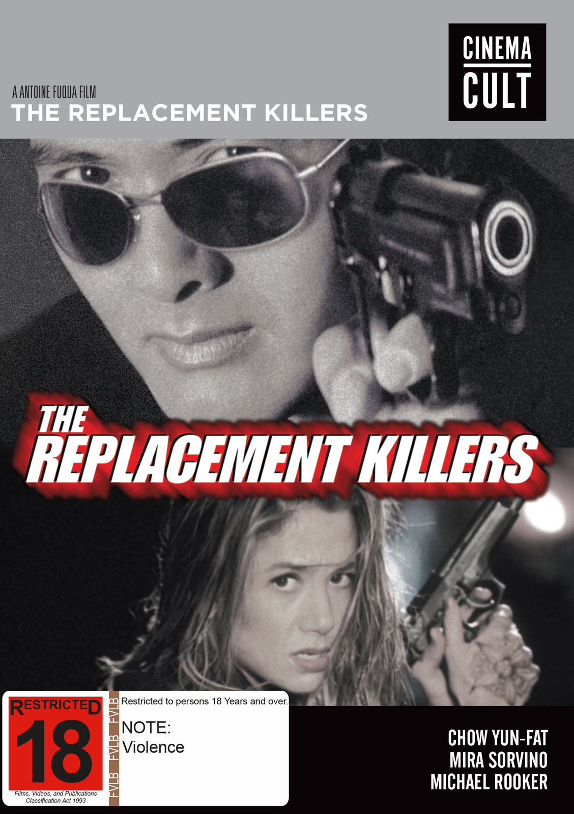 The Replacement Killers on DVD image