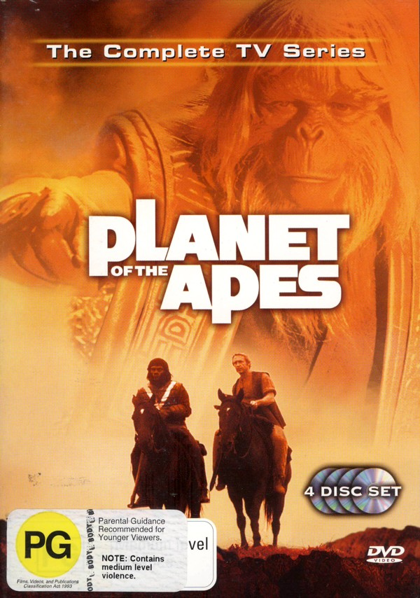 Planet Of The Apes - The Complete TV Series: Collectors Edition (4 Disc Slimline Set) on DVD image