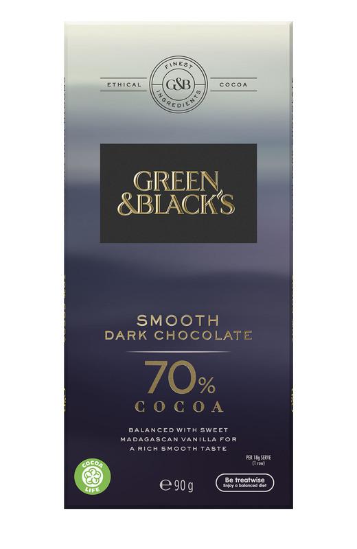 Green & Black's Smooth Dark Chocolate - 70% Cocoa (90g)