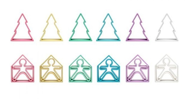 dena: Kid, House & Tree - Silicone Toy Set