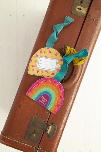 Natural Life: Luggage Tag - Rainbow Dreams