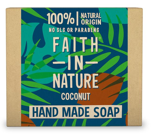Faith In Nature: Coconut Soap Bar (100g)