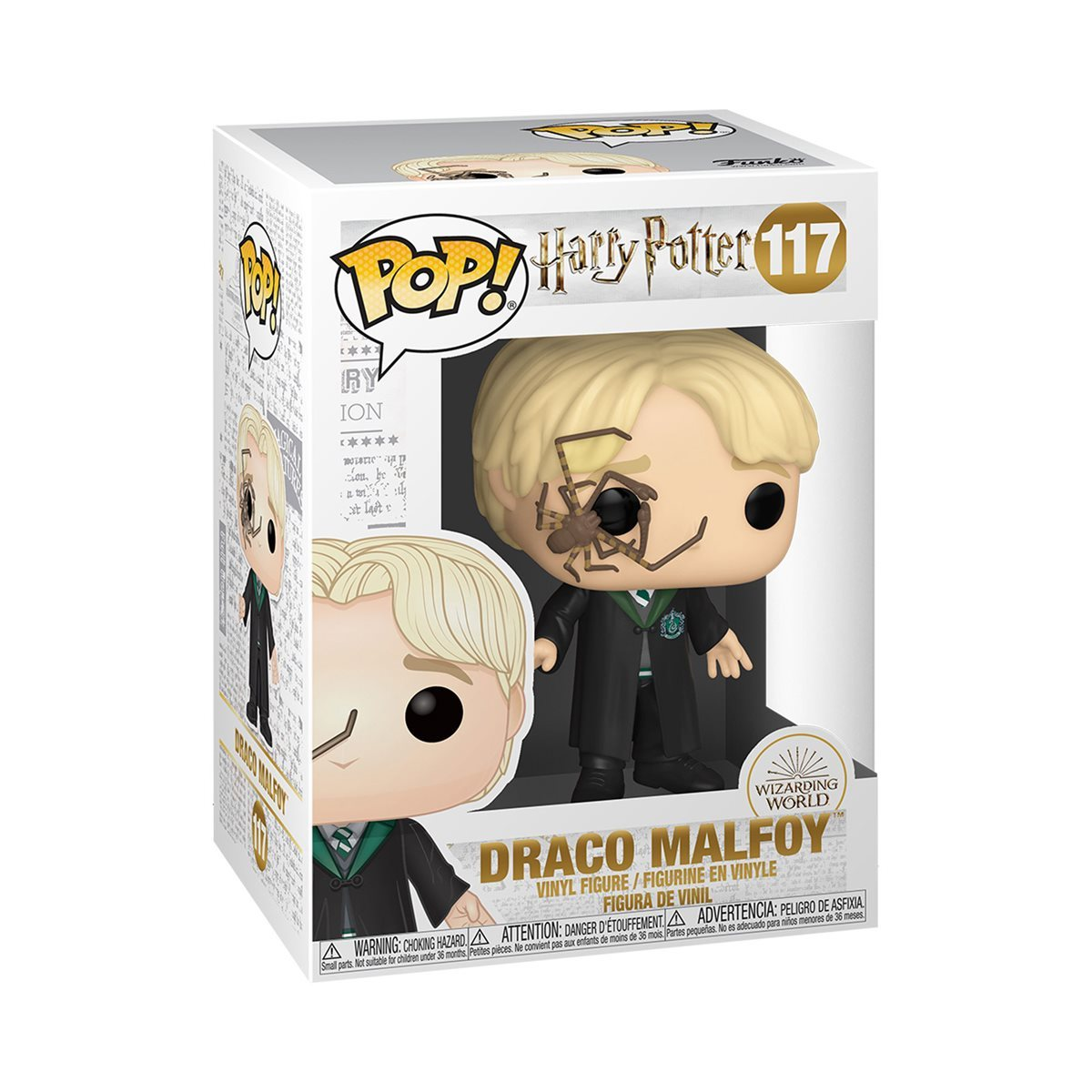 Harry Potter: Draco Malfoy (with Whip Spider) - Pop! Vinyl Figure image