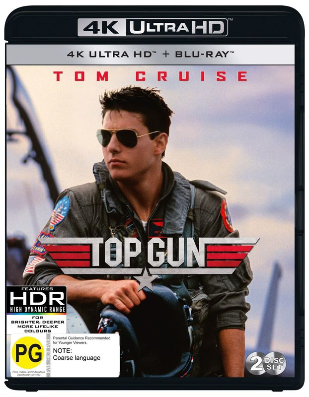 Top Gun on UHD Blu-ray