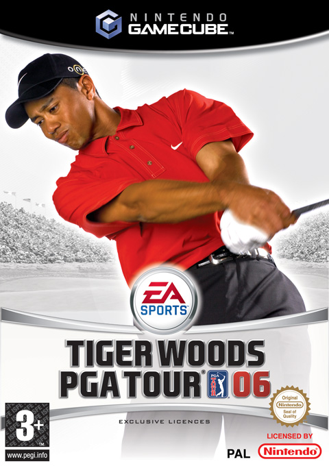 Tiger Woods PGA Tour 06 for GameCube image