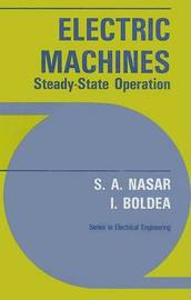 Electric Machines: Steady-state Operation by S.A. Nasar image