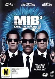 Men in Black III on DVD