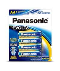 Panasonic Evolta AA Batteries - 4 Pack
