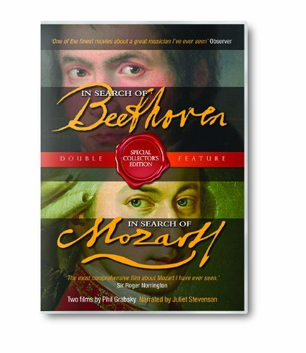In Search Of Beethoven & In Search Of Mozart on DVD image