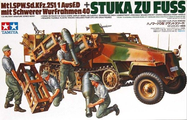 Tamiya: 1/35 German Stuka Zu Fuss - Model Kit