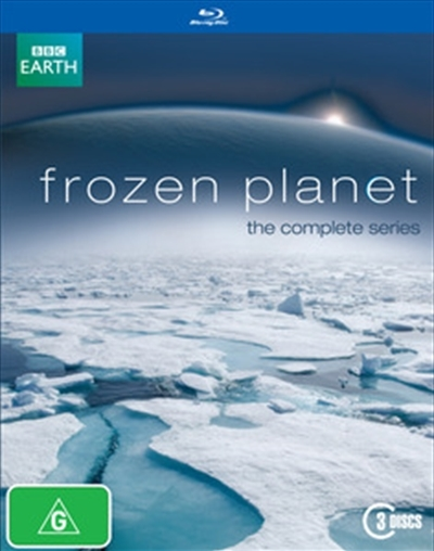 Frozen Planet on Blu-ray