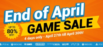 End of April GAME SALE