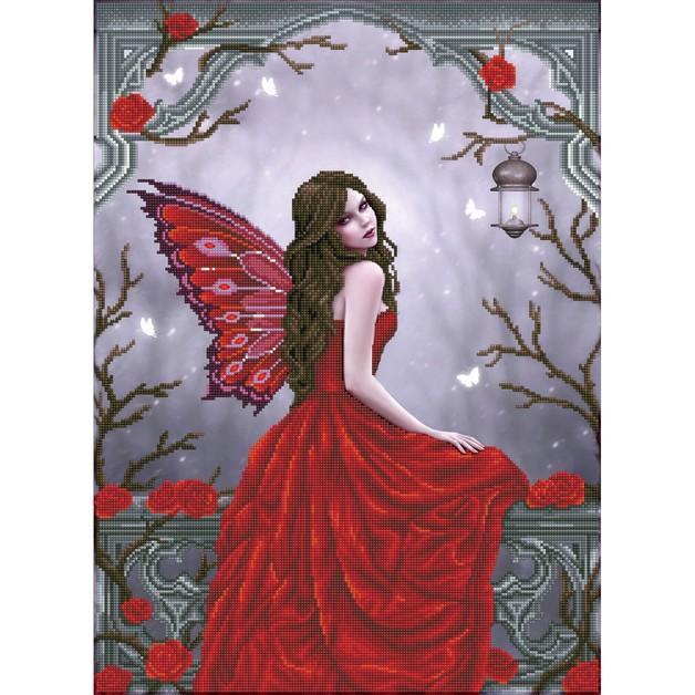 Diamond Dotz: Facet Art Kit - Winter Rose Fairy (Advanced)
