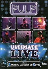 Pulp - Ultimate Live on DVD