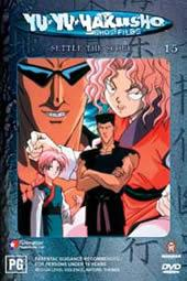 Yu Yu Hakusho: Ghost Files - Vol 15 Settle The Score on DVD